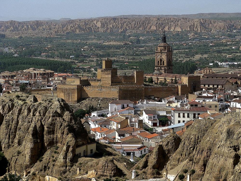 Miasto jaskiniowców, Guadix, Hiszpania