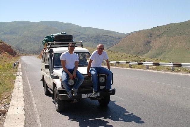 Armenia - uważaj na długich trasach