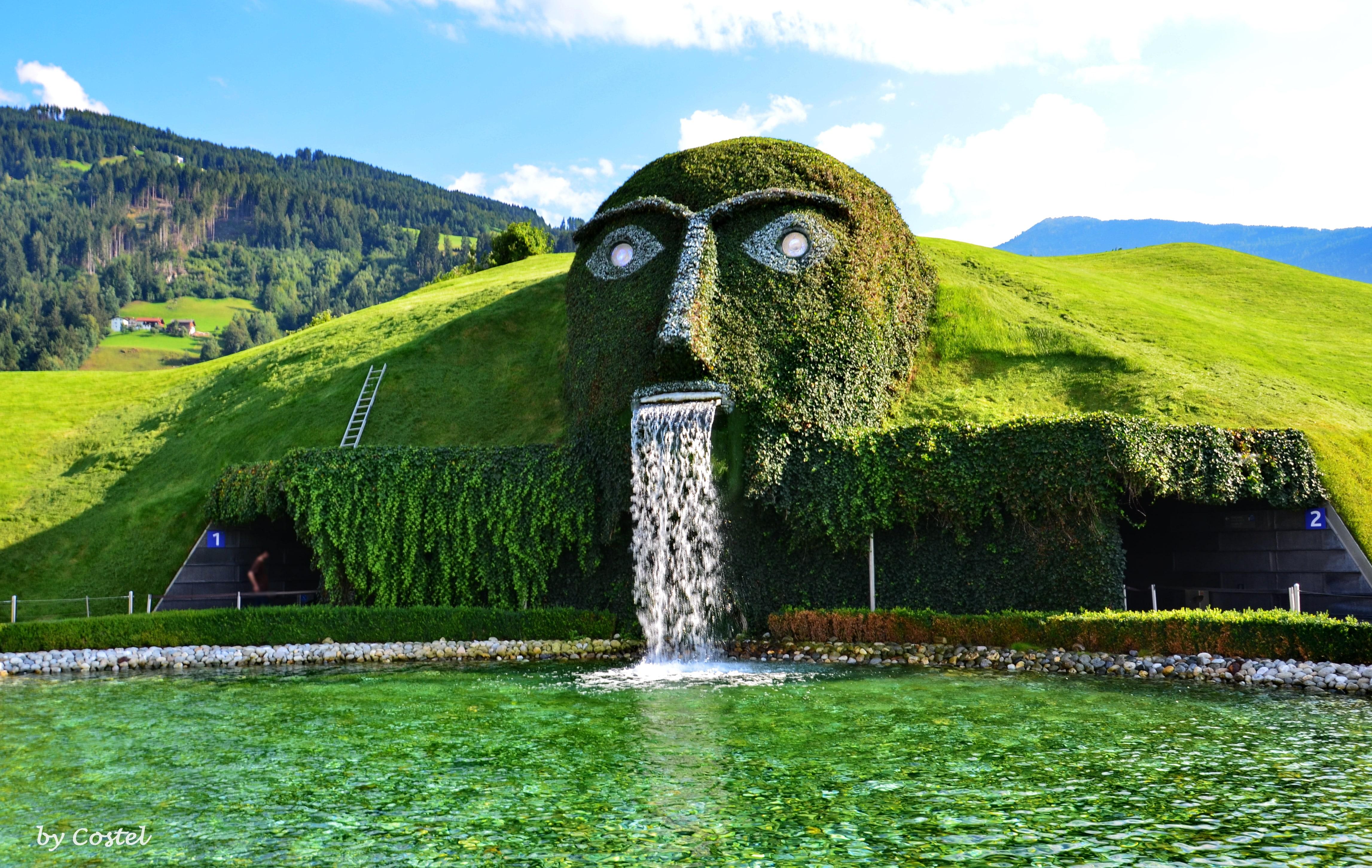 Kryształowy park, Insbruck, Wattens