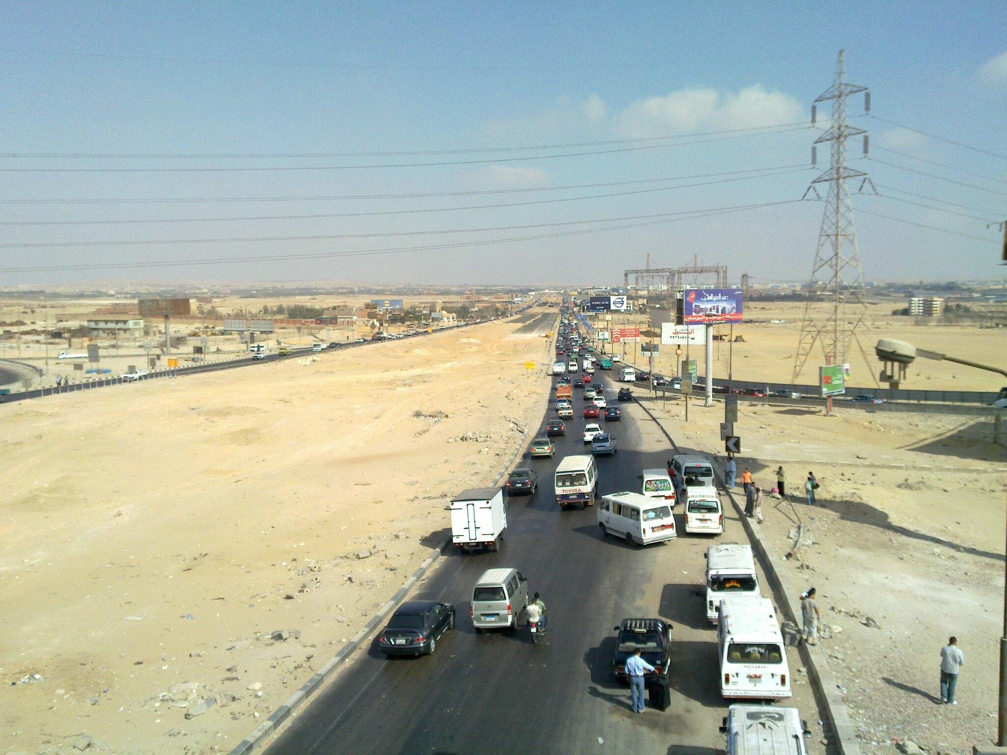 Uważaj na drogach w Egipcie.