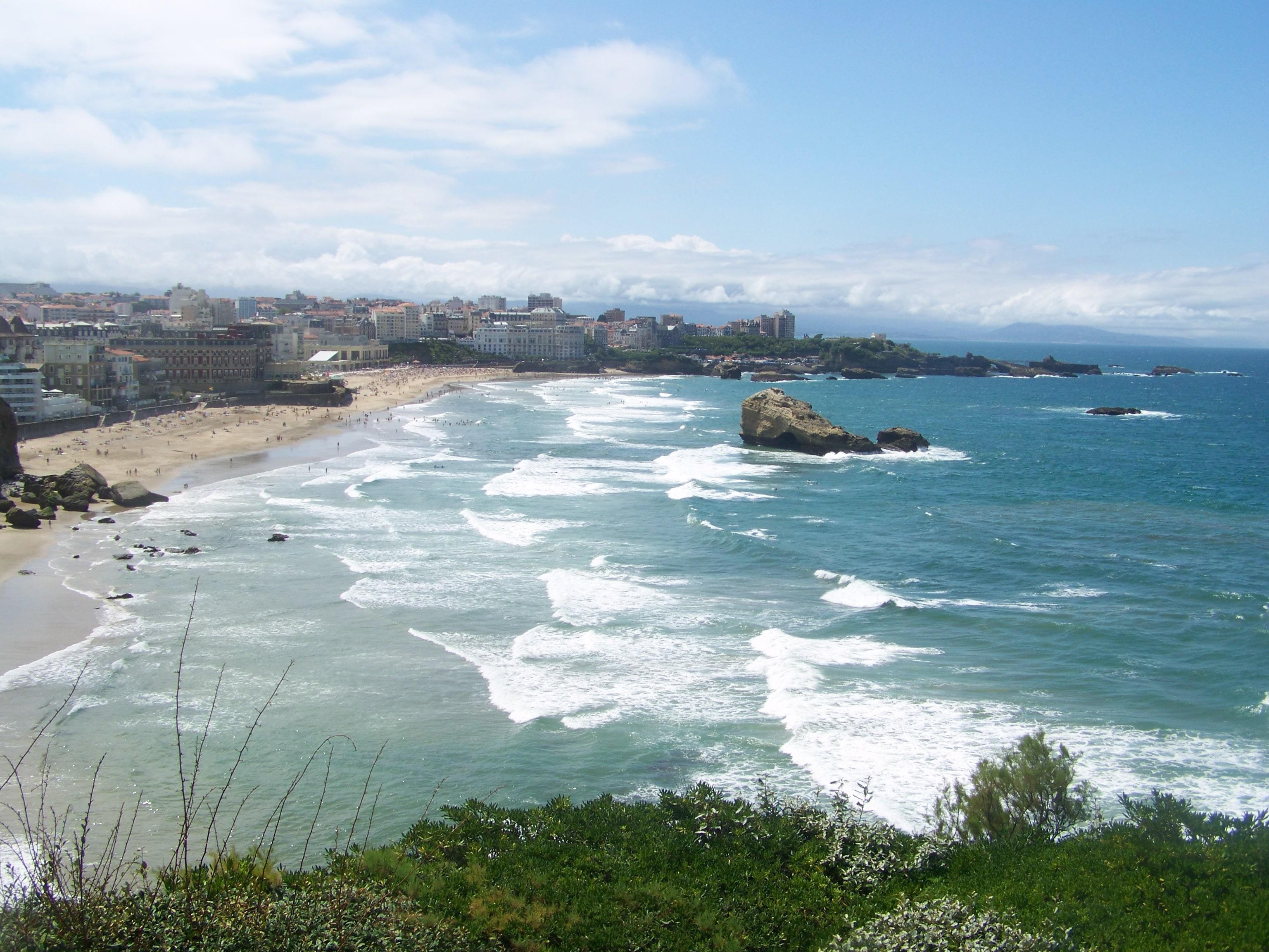 Europejska stolica surfingu, czyli Biarritz we Francji.