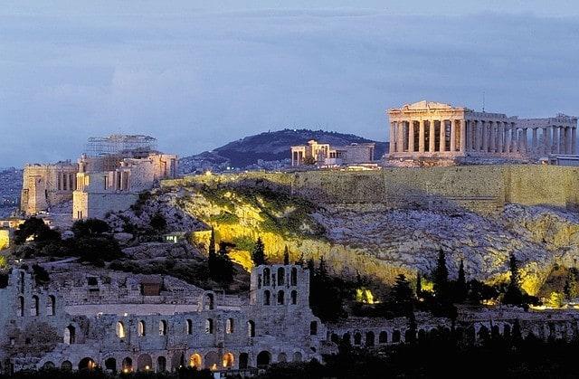 Ateny - najbardziej stresującym miastem. Grecja.