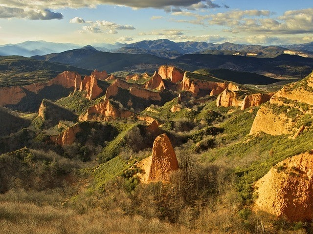 Las Medulas, rzymska kopalnia złota, Hiszpania