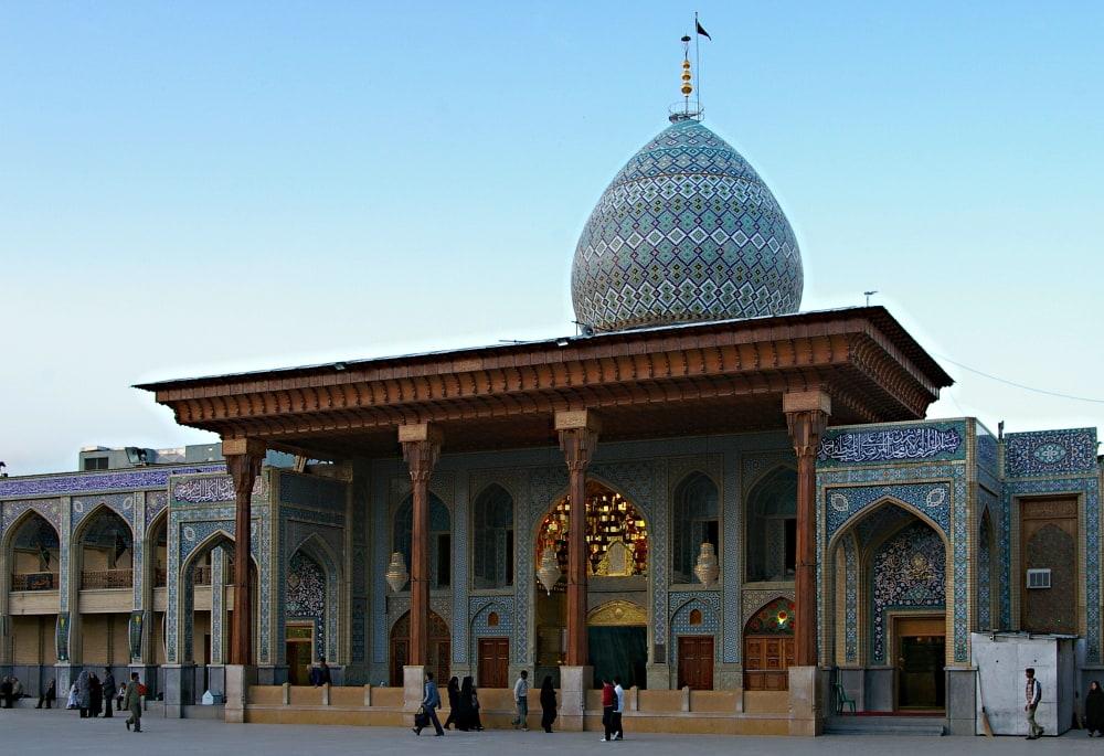 Legendarny meczet Szach Czerag w Iranie