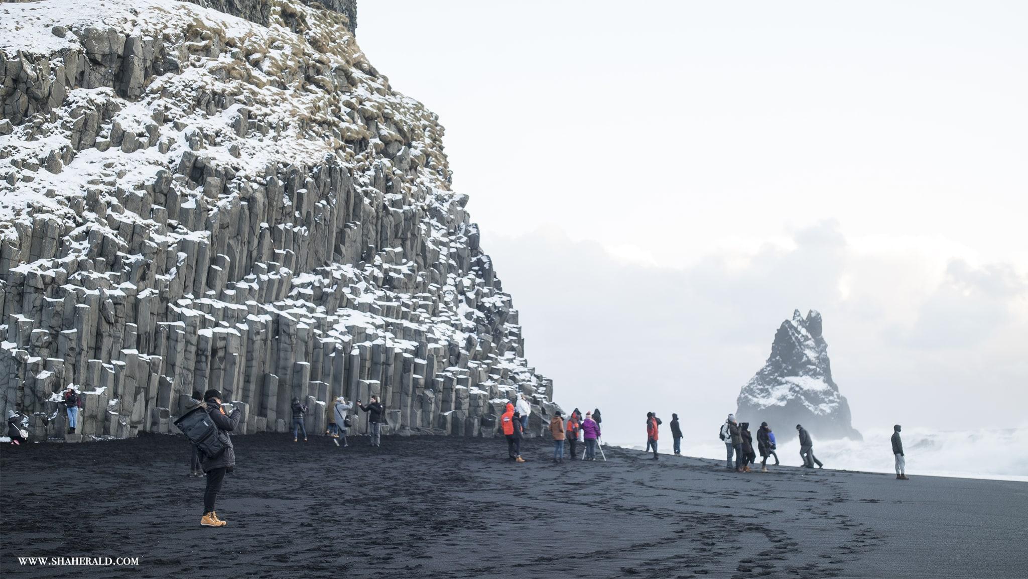 Przed wypadem w góry w Islandii, powiadom o tym znajomych.