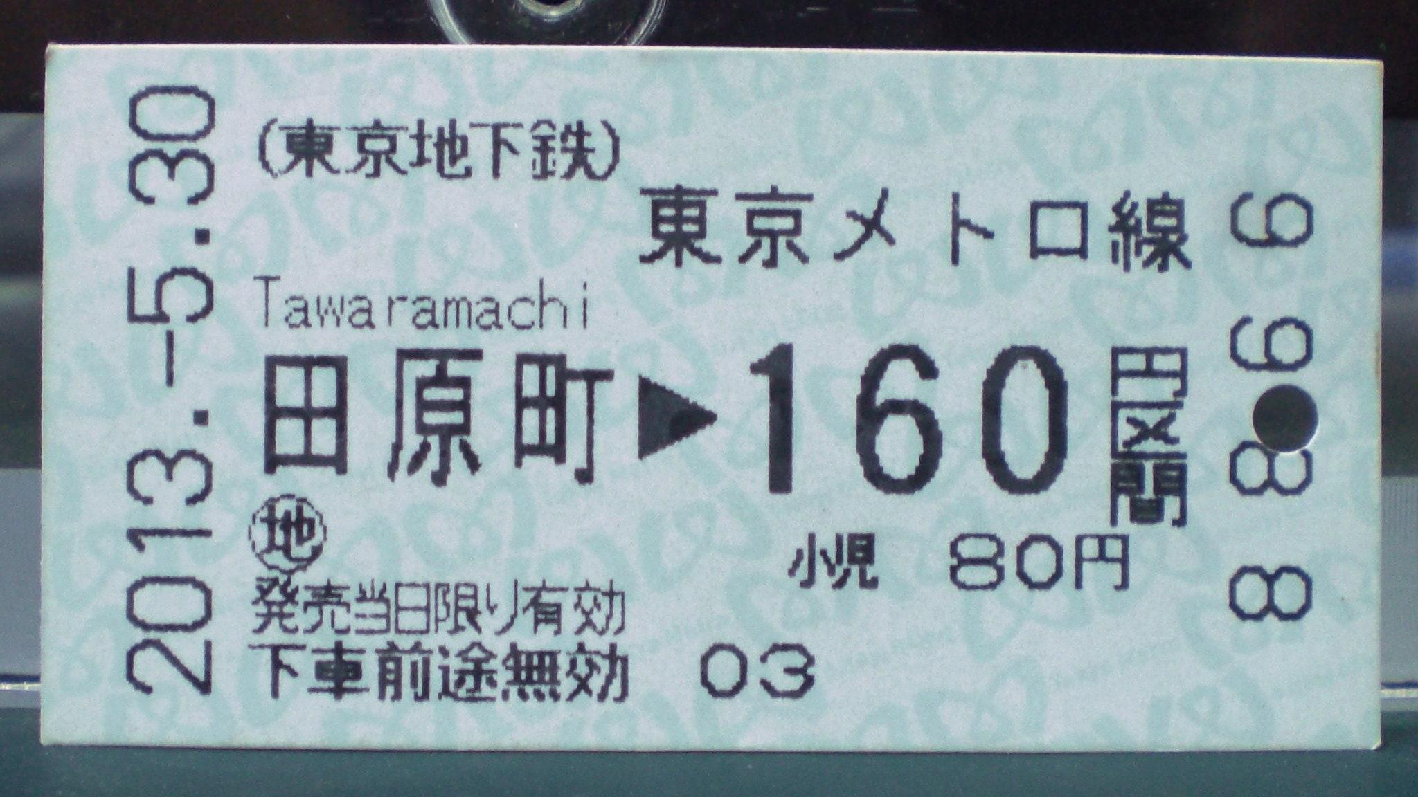 Bilety w Japonii kasujemy 2 razy!