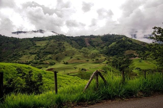 Uważaj na sytuacje w kolumbijskich górach.