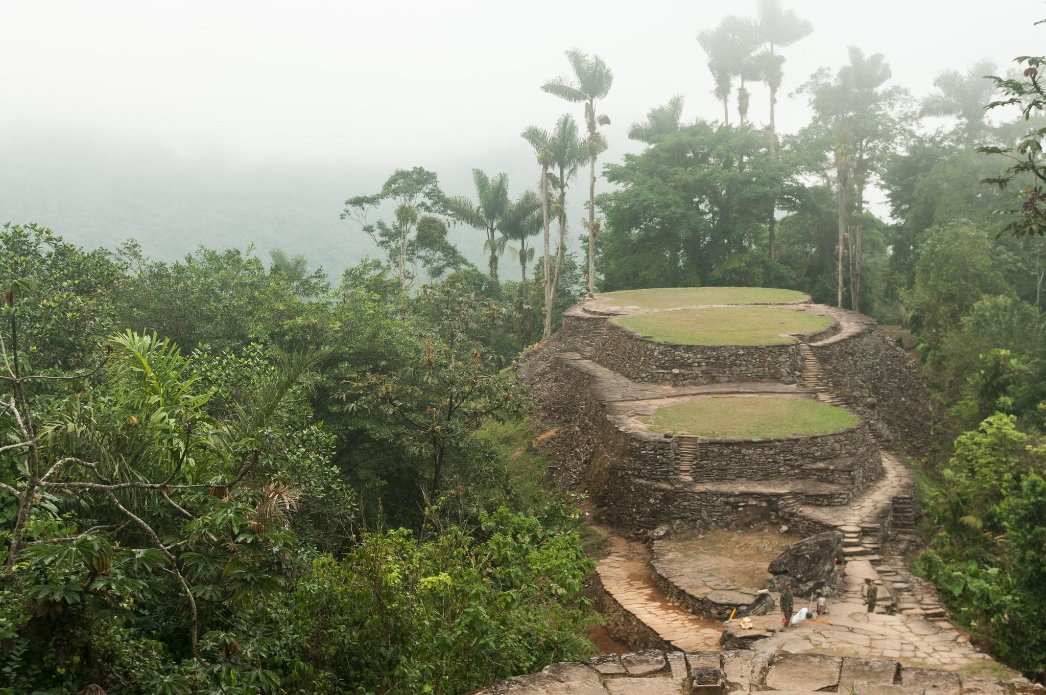 Niezwykłe miejsce w Kolumbii