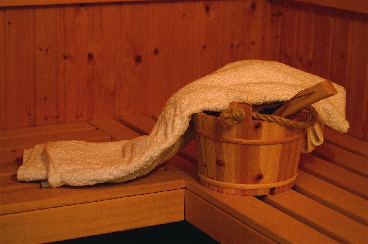 Koreański odpoczynek w saunie.