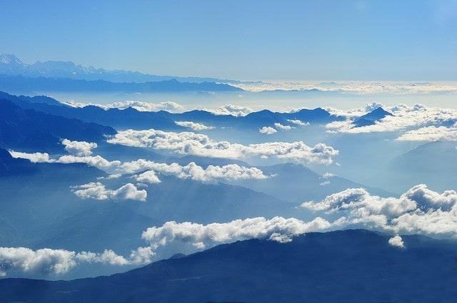 Paralotnią nad Nepalem - Pokhara, Phewa Tal