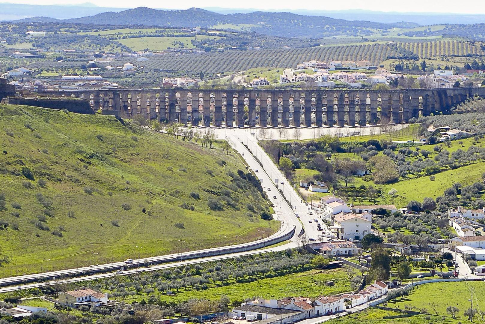 Elvas Portugalczycy wznieśli Fort Graça